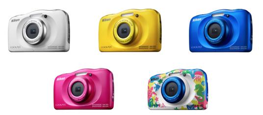 Die Coolpix W10 gibt es verschiedenen Farben | Foto: Nikon GmbH