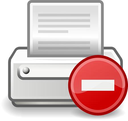 HP Drucker versagen den Dienst | Bild: OpenIcons, pixabay.com, CC0 Public Domain