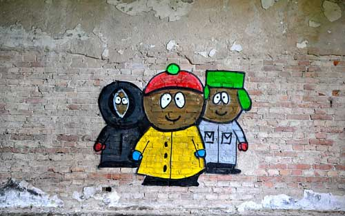 """South Park"" Graffiti 
