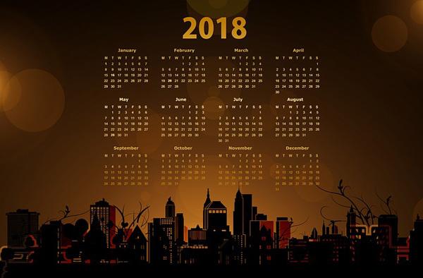 Foto-Kalender 2018 | Foto: geralt, pixabay.com, Pixabay-Lizenz