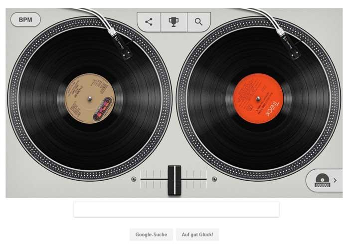 Google Doodle mit Beatmaschine