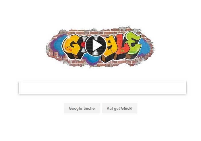 Google Doodle für den Hip-Hop
