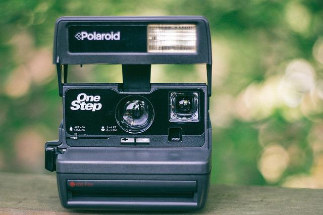 Polaroid OneStep | Foto: StockSnap, pixabay.com, CC0 Creative Commons