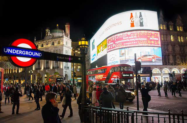 Piccadilly Circus | Foto: Skitterphoto, pixabay.com, CC0 Creative Commons
