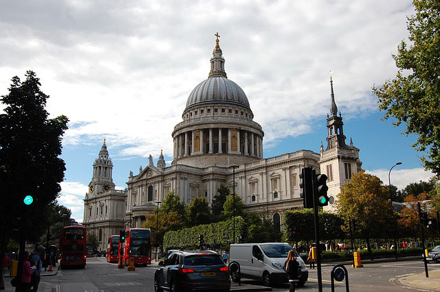 St. Paul's Cathedral | Foto: T_Zoli, pixabay.com, CC0 Creative Commons