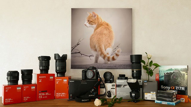 Kamera-Ausrüstung | Foto: Katzenfee50, pixabay.com, CC0 Creative Commons