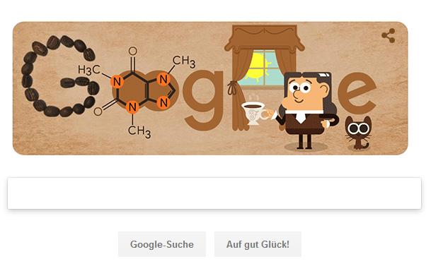 Google Doodle für Suchen Friedlieb Ferdinand Runge