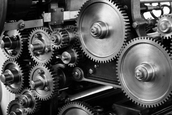 Getriebe einer Maschine | Foto: Pixabay, CC0 License