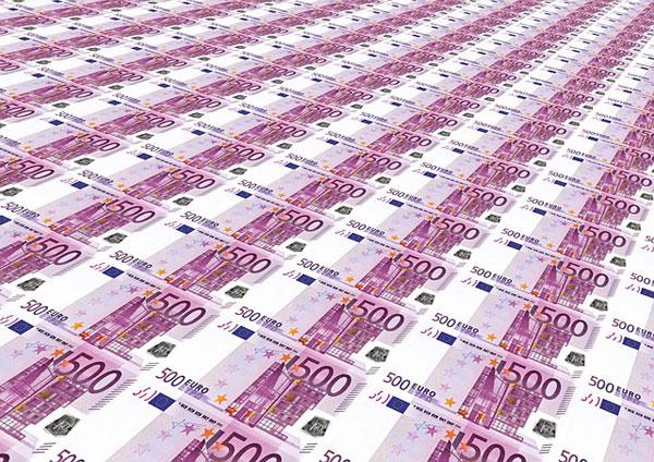 500 Euro Geldscheine | Foto: geralt, pixabay.com, Pixabay License