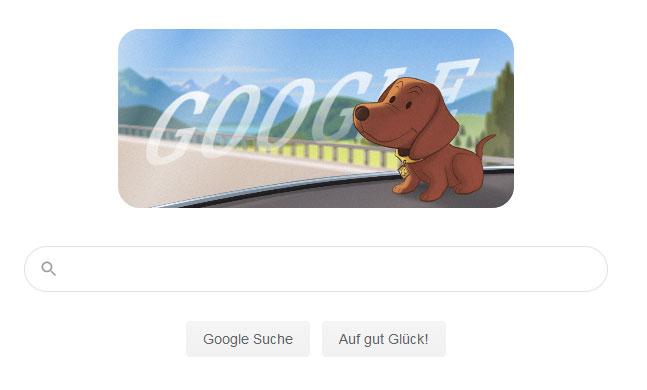 Screenshot: Google Doodle für den ackeldackel