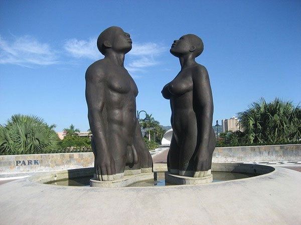 Statue Mann & Frau nackt | Foto: Graka, pixabay.com, Pixabay License